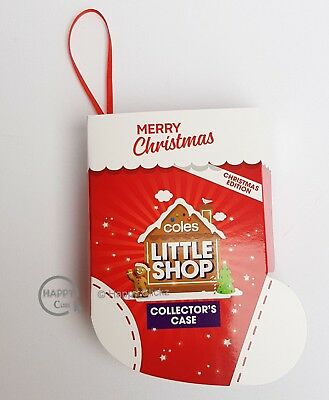 Coles Little Shop Entire Set including Christmas Edition - Red Hand, Trolley etc