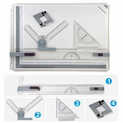 A3/A4 Office Drawing Board Table Architect Technical Design Magnetic Bar Kit SA
