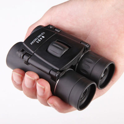 Day And Night Vision 8 x 21 ZOOM Mini Compact Foldable Binoculars UK Seller