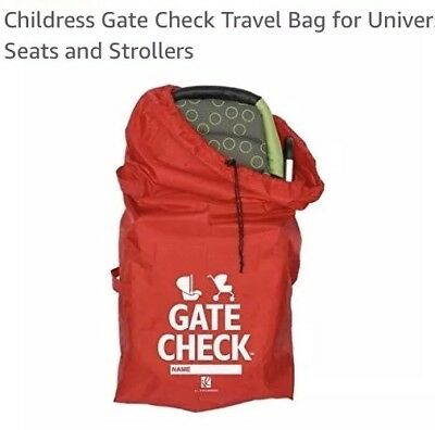 J.L. Childress Gate Check Travel Bag for Universal Car Seats and Strollers NIB