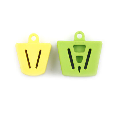 1PCS Dental Silicone Latex Mouth Prop Bite   Green/Yellow HLCH
