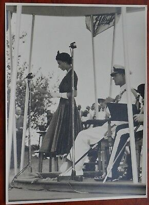 Uganda, Royal Tour, Entebee 1953-54, by Fox Photo's Ltd