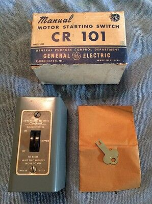 New In Box Ge General Electric Cr101 Manual Motor Starting Switch