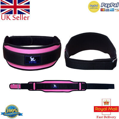 Weight Lifting Gym Belt Neoprene Double Workout Support Brace Body Fitness/Belts