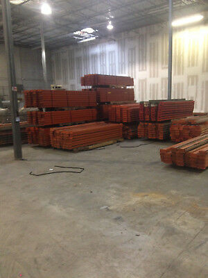 Teardrop and Pins Pallet Racking