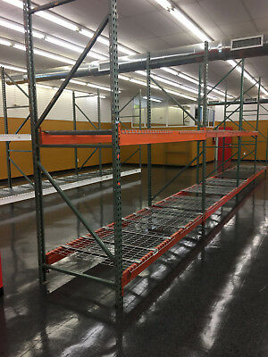 Racking Shelving for Pallets, Storage, Warehouse, Tools, Equipment, Grocery