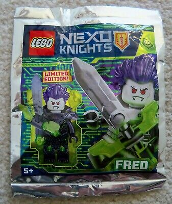 LEGO NEXO KNIGHTS Lance Gold Minifigure Foil Pack NEW SEALED LIMITED EDITION