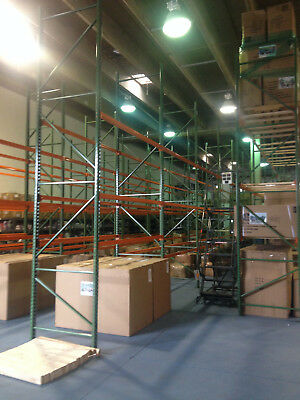 New and Used materials and accessories for racking and shelving