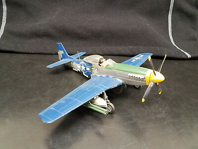 Built Model - Us Army P-51 Mustang E 9O Model Kit - 1/48 Scale (I Think)