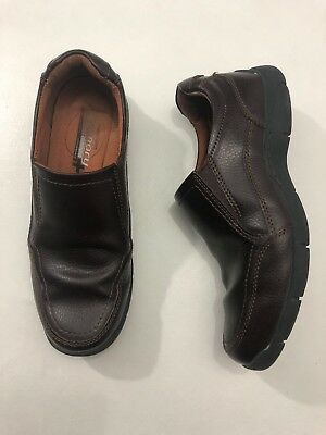 e0c63cf37982 Streetcars Mens Memory Foam Comfort Brown Leather Loafers Daytona Shoes Sz  11 M