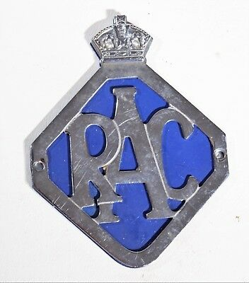 RAC Car Badge Royal