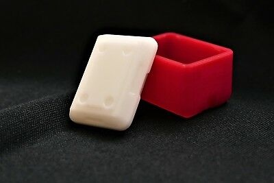 USA Plastic HO Scale Red and White Cooler - 2 Pack 87885