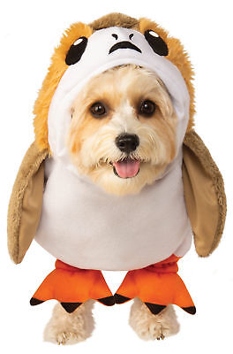 Star Wars The Last Jedi Porg Pet Dog Cosplay Costume Brand New
