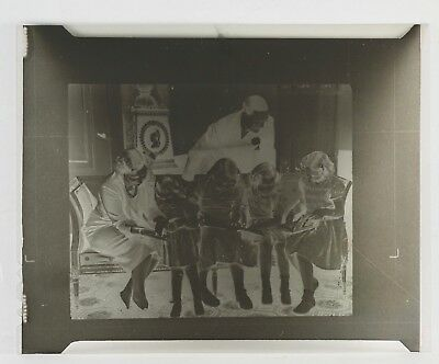 "DUTCH QUEEN WITH BELGIUM KING IN COACH 5"" x 4"" PRESS NEGATIVE 78634/3"