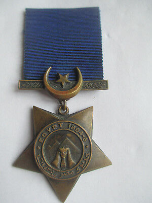 Victorian Khedives Star 1884-6. Medal. original unnamed as issued.