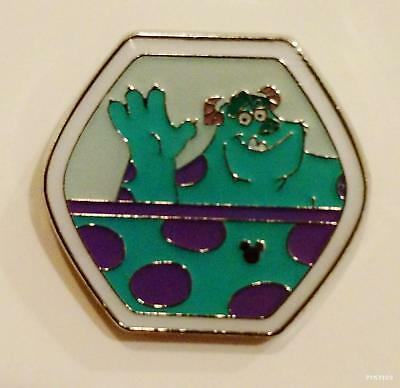 Disney Pin 109357 HKDL Fun Day 2015 Hidden Mickey Magical Ferris Sulley Monsters
