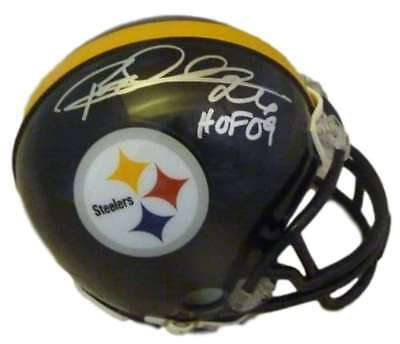 Rod Woodson Autographed Signed Pittsburgh Steelers Mini Helmet HOF JSA 20060 fcc327860