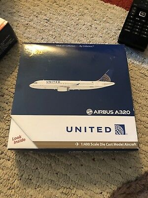 Gemini Jets 1:400 United Airlines Airbus 320 (A320) GJUAL1156