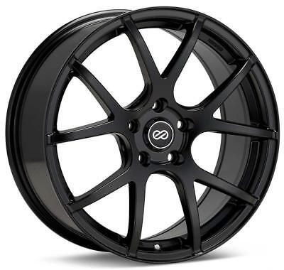 Enkei J Speed Classic Line 15x7 38mm Offset 4x100 Bolt Pattern Black