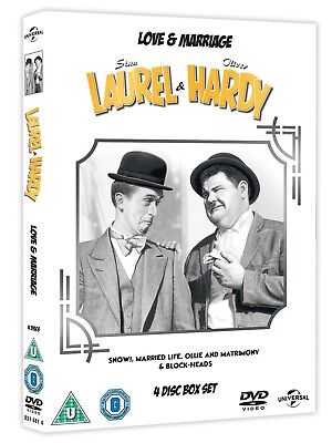 Laurel And Hardy Collection (DVD, 2005, 5-Disc Set, Box Set) New