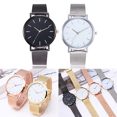 Women Watch Quartz Stainless Steel Strap Wrist Watch Ladies Wrist Casual Clock