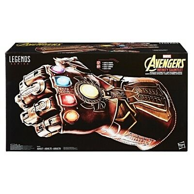 1:1 Avengers Marvel Infinity Gauntlet Articulated Electronic Fist