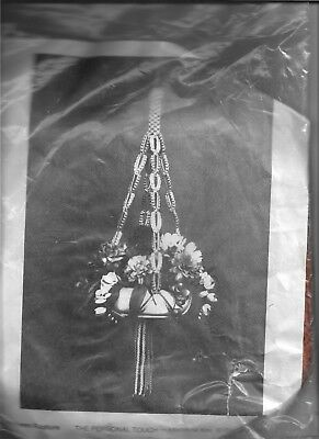 Personal Touch Macrame Kit -Autumn Rapture- Sealled/New