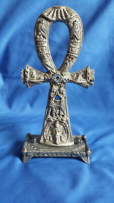 Pewter Egyption Ankh Sunglo designs pewter - Denicolo