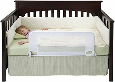 Hiccapop Safe Sleeper Convertible Crib Bed Rail for Toddler with Reinforce..
