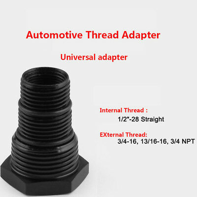 Best 1/2-28 to Automotive Threaded Oil Filter Adapter Solvent Trap Fram