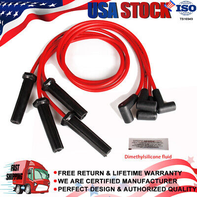 High Performance Spark Plug Wire Set For GM Vehicle's Water-tight Seal EMI/RFI