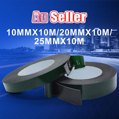 Plate Mirro Car Trim Waterproof Adhesive Strong Double Sided Foam Tape
