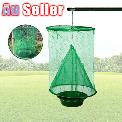 Reusable Flytrap Net Trap Tools Pest Kill Control Hanging Fly Catcher Killer