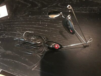 "/""Dominator/"" Series 3//8oz Twin 3 Arm V Spinnerbait /""Free Shipping/"" Alabama Bass!!"