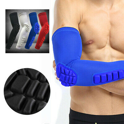 Protector Arm Pad Sleeve Sports Basketball Support Compression Crashproof Gym