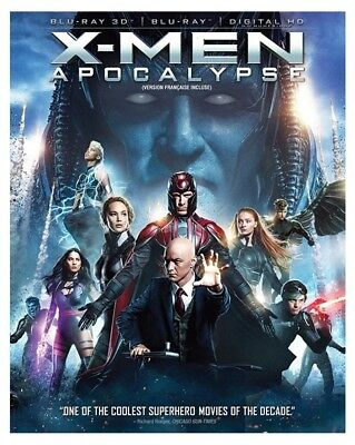 X-men Apocalypse (Bilingual) [3D Blu-ray + Digital Copy] *NEW*