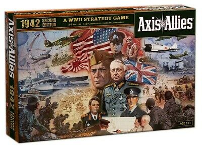JM2115603 Avalon Hill Board Game Axis & Allies 1942 2nd Edition english