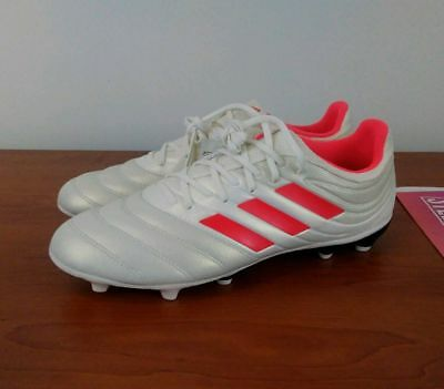 4e657b717 Adidas Copa 19.3 FG Soccer Cleats Men s Off-White Solar Red BB9187 9 9.5