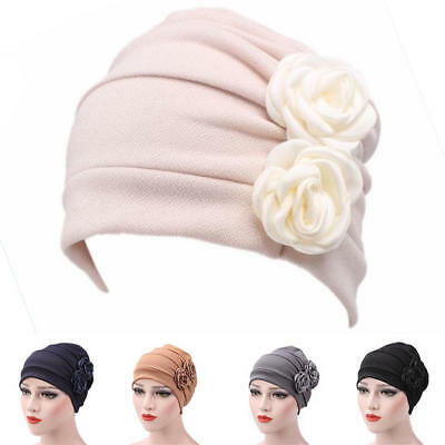Women Hijab Turban Hat Lady Cancer Chemo Hair Loss Cap Head Scarf Wrap Cover NEW