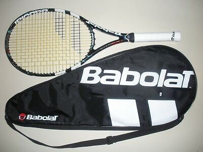 Babolat Pure Drive 100 Tennis Racquet 4 1/4 (New Strings)  2012