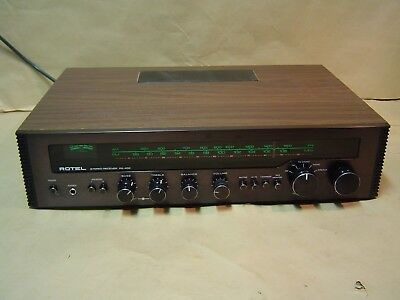 Rotel RX 402 Vintage Receiver. Rare Black. Can be Used as a Pre Amp. Nice One!!!