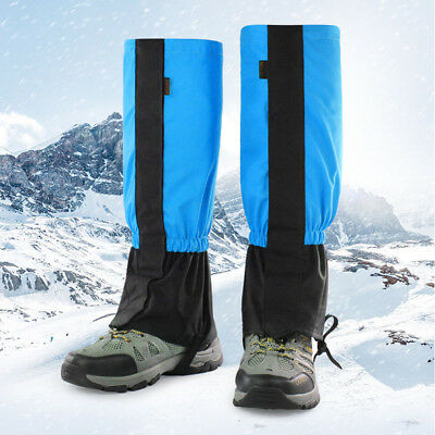 New Waterproof Outdoor Hiking Snow Leg Legging Cover Gaiters Hunting Climbing