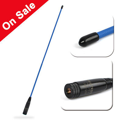 SMA-Male Dual Band Soft Antenna for WOUXUN KG-UV8D Walkie Talkie 2-Way-Radio