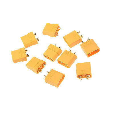 """10Pcs XT90 Connector Plugs & protect cover for Battery Charger""""#"""