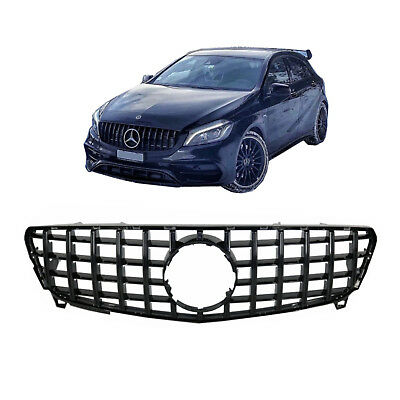 Central Grille For Mercedes Benz A-Class W176 Facelift (09.2015-2018) A45 GT-R P