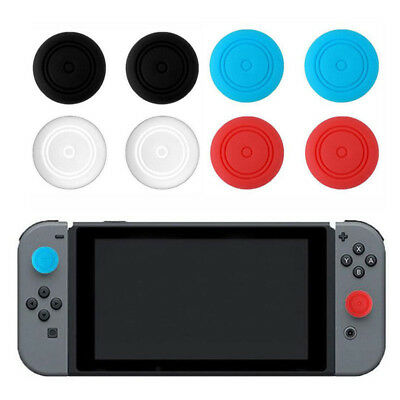 6pc Silicone Thumbstick Thumb Stick Grip Caps Cover for Nintendo Switch joy con