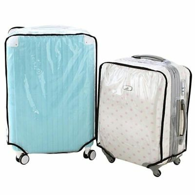 Foldable Transparent Luggage Cover Travel Suitcase Box Protector Case Rain Cover