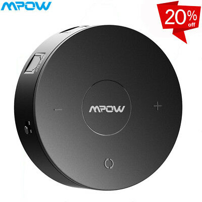 MPOW 2 in 1 Bluetooth Receiver/Transmitter Wireless Audio AUX Mp3 Music Adapter