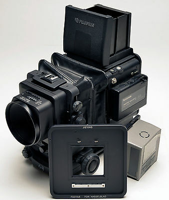 Hasselblad V Back For Fuji GX680 F Phase One Sinar Leaf Hasselblad Camera