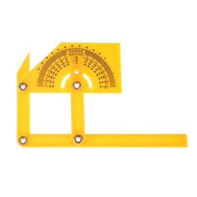 Multi-function 180° Angle Template Protractor Ruler Measuring Instruments Tool